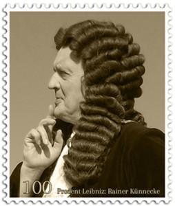 Briefmarke-Leibniz