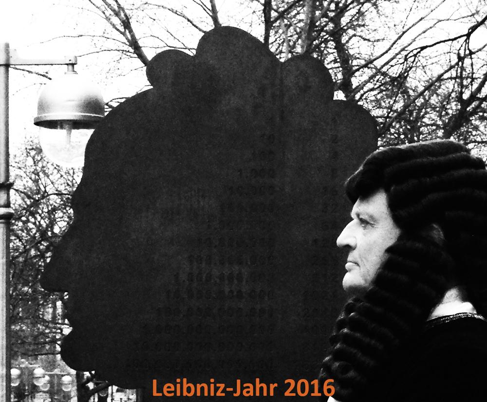Durch das Leibniz-Jahr 2016 mit Darsteller Rainer Künnecke